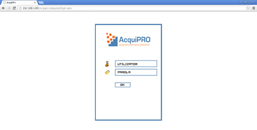 Login AcquiPRO